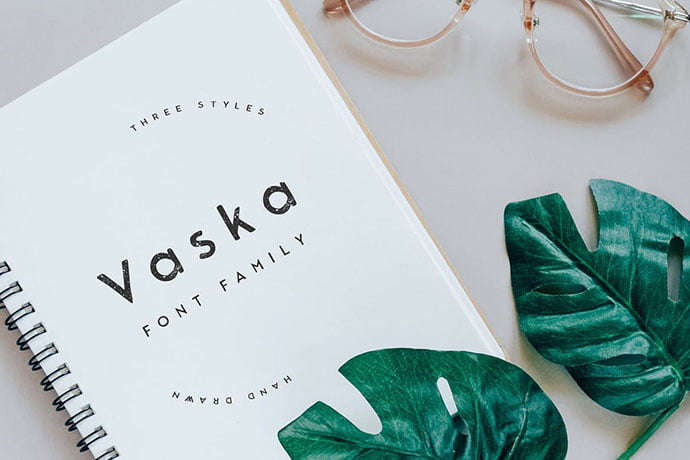 Vaska - 45+ Amazing Sans Serif Fonts For Minimalist Designs [year]