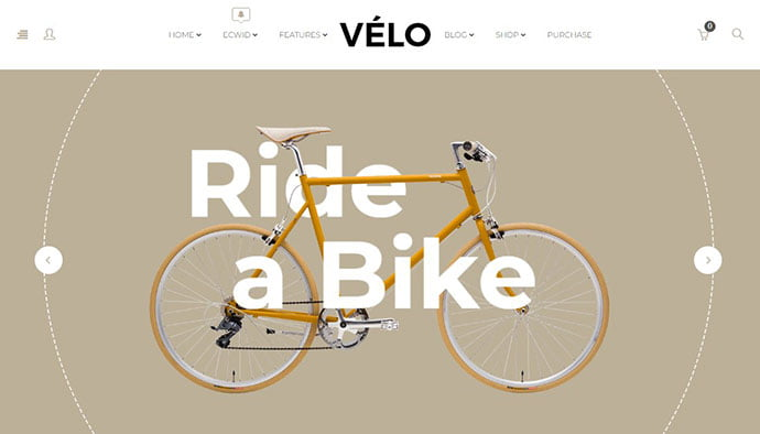 Velo - 29+ Best Bike Store Responsive WordPress Themes [year]