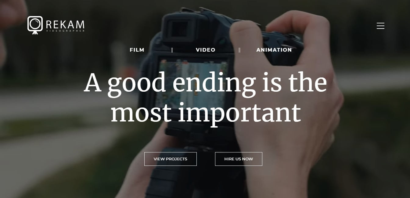 Videographers-Cinematographers-WordPress-Themes - 35+ Nice Videographers & Cinematographers WordPress Themes [year]