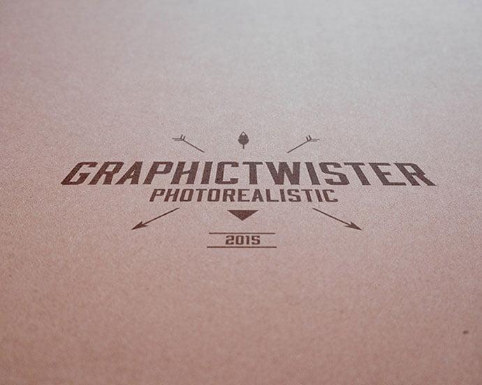 Vintage-Paper - 40+ Nice Free PSD Showcase Logo For Designer [year]