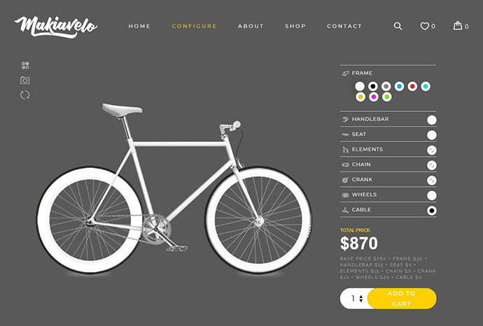WP-Configurator - 29+ Best Bike Store Responsive WordPress Themes [year]