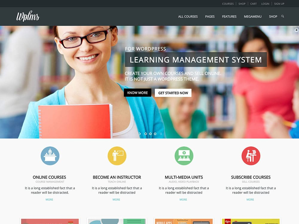 WPLMS - 30+ Awesome LMS WordPress Themes & Plugins [year]