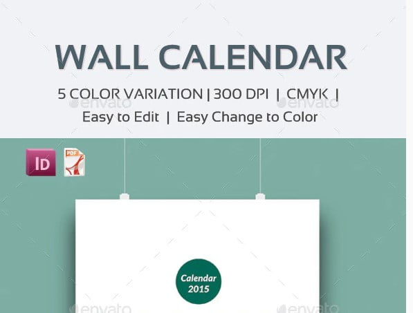 Wall-Calendar - 38+ Free Innovative Calendar Design Example [year]