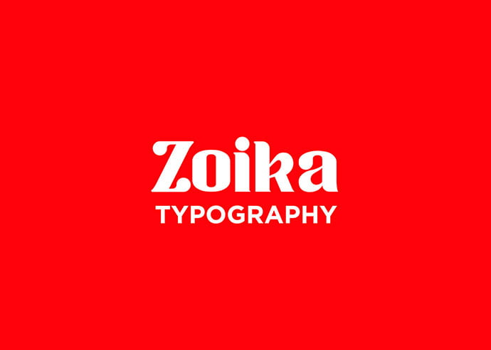 Zoika - 43+ Important Free Fonts Collection [UPDATE 2020]