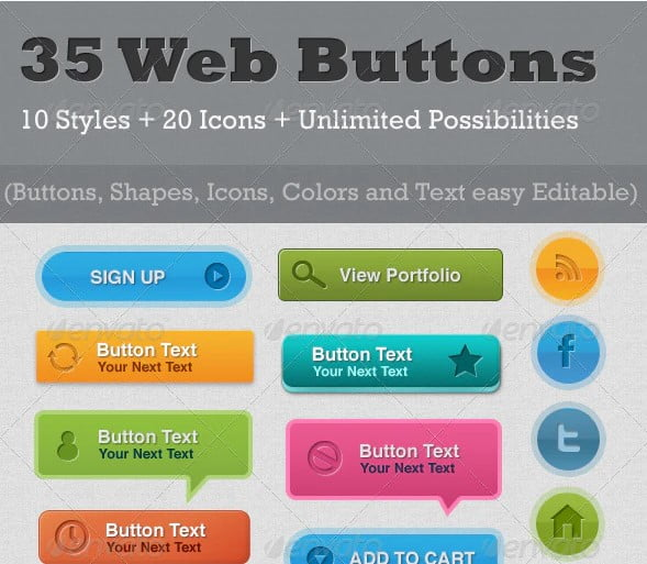 35-Resizable - 46+ Great Free Inspiration CSS Button Example [year]