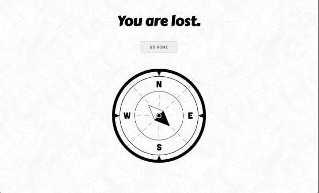 404-Error - 33+ Awesome CSS & Javascript Error 404 Page Sample [year]