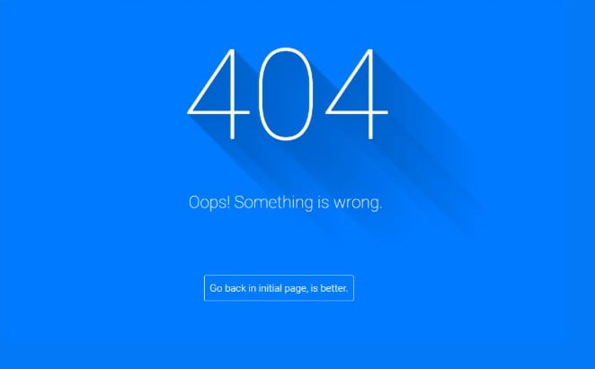404-Not-Found-Page - 33+ Awesome CSS & Javascript Error 404 Page Sample [year]