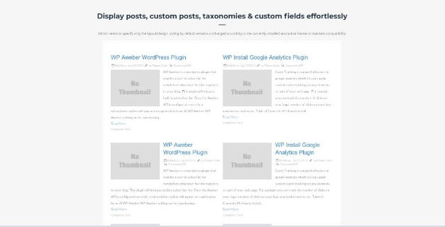 Advanced - 28+ Essential Grid Layout WordPress Plugins [year]