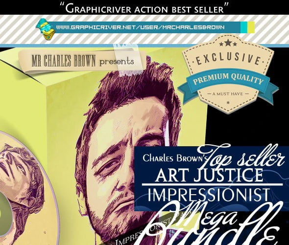 All-Charles - 33+ Beautiful Impressionist Art Photoshop Actions [year]