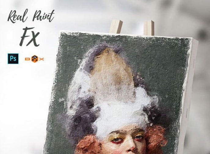 Animated-Real-Paint-FX - 33+ Beautiful Impressionist Art Photoshop Actions [year]