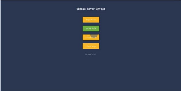 Animated-hover - 46+ Great Free Inspiration CSS Button Example [year]