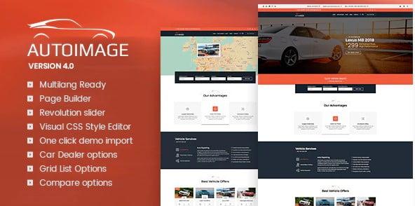 Autoimage - 28+ Automotive Accessories WordPress Themes [year]