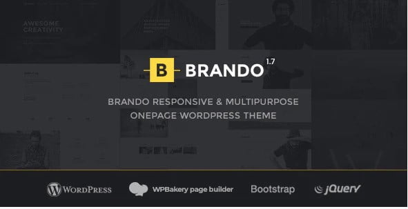 Brando - 34+ Portfolio WordPress Themes For Resume [year]