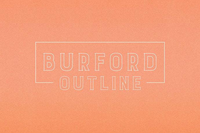 Burford-Outline - 39+ Amazing Outline Fonts For Designer [year]
