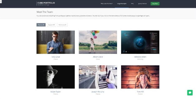 Cube - 28+ Essential Grid Layout WordPress Plugins [year]