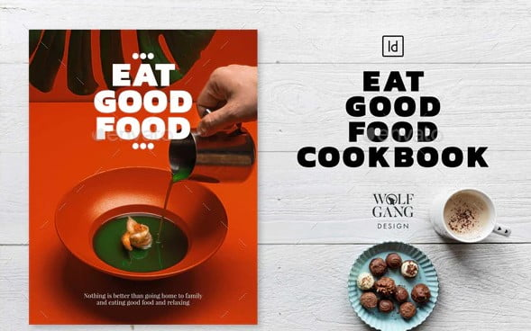 Eat-Good-Food-Cookbook - 35+ Creative Free Cookbook Designs Example [year]