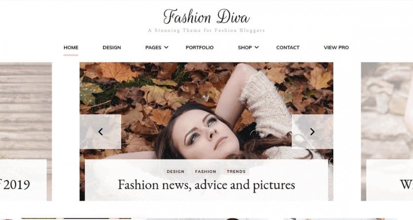 Fashion-Diva - 35+ Free WordPress Blossom Themes and Templates [year]