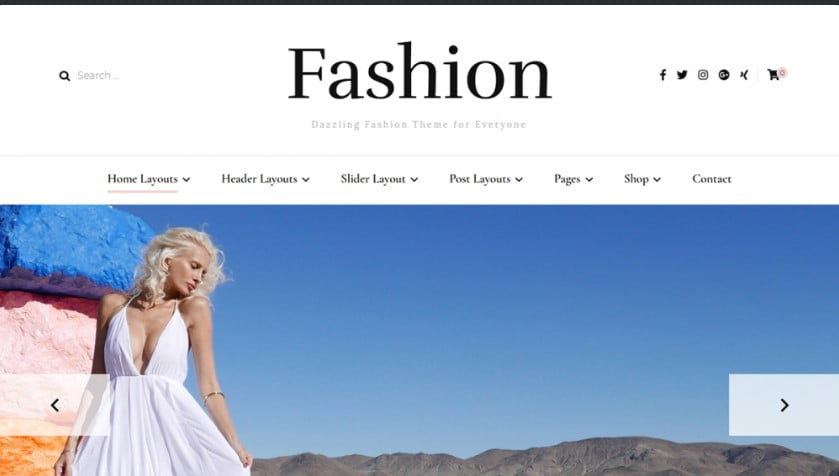 Fashion - 35+ Free WordPress Blossom Themes and Templates [year]