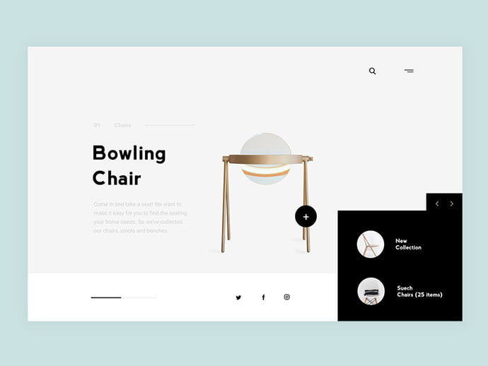 Furniture-Online - 63+ Impressive Free Furniture Web UI Example [year]