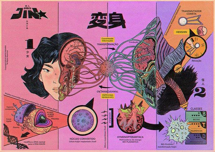 Girlsjin - 38+ Marvelous Comic Style Illustrations [year]