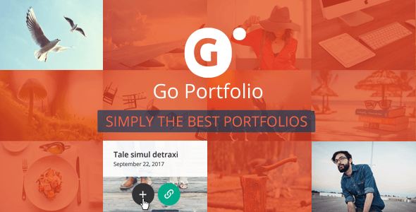 Go-Portfolio - 28+ Essential Grid Layout WordPress Plugins [year]