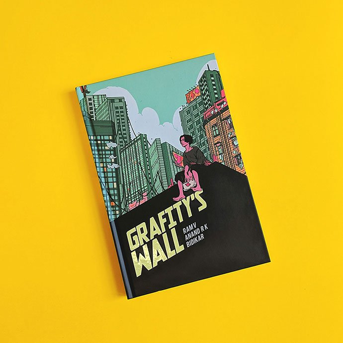 Grafity's-Wall - 38+ Marvelous Comic Style Illustrations [year]