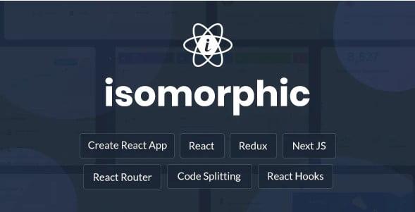 Isomorphic - 38+ Amazing React Admin Dashboard Templates [year]