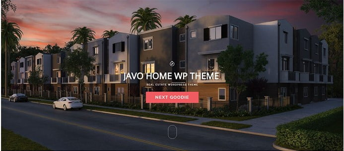 Javo-Home - 33+ Amazing Real Estate WordPress Themes [year]