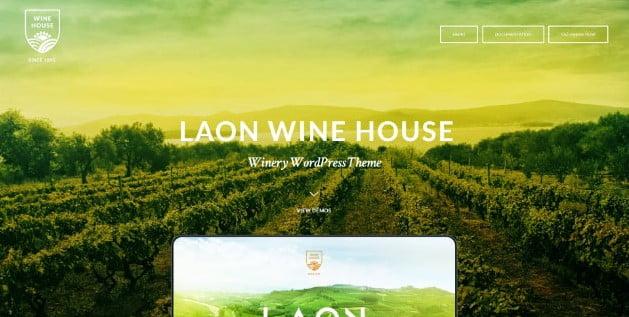 Laon - 39+ Best Fruit & Vegetable WordPress Themes [year]