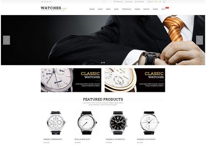 Legenda - 34+ Top Online Watch Shop WordPress Themes [year]