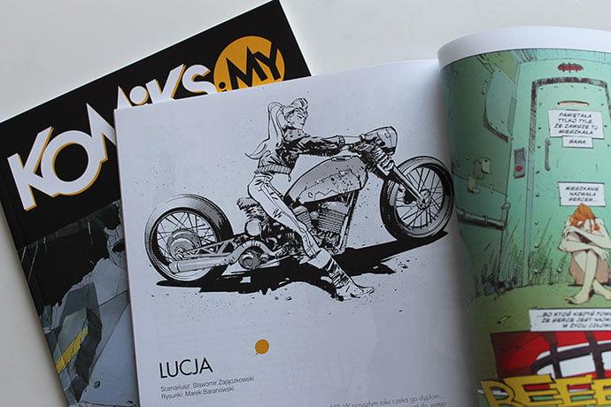 Lucja - 38+ Marvelous Comic Style Illustrations [year]