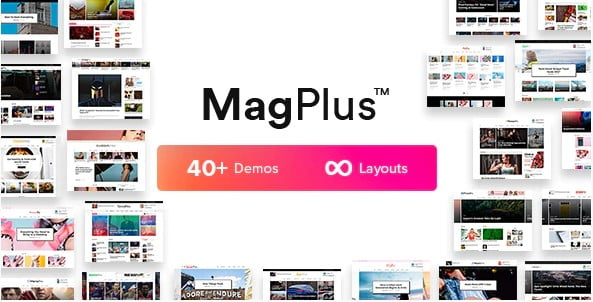 MagPlus - 38+ Awesome WordPress News Templates [year]