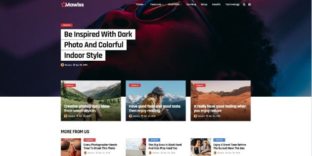 Mawiss - 33+ Great Science & Technology WordPress Themes [year]