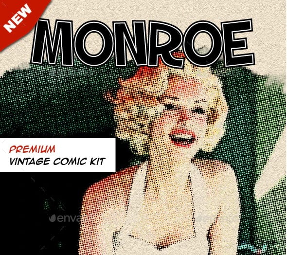 Monroe - 38+ Marvelous Comic Style Illustrations [year]