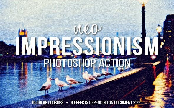 Neo-Impressionist-Art - 33+ Beautiful Impressionist Art Photoshop Actions [year]