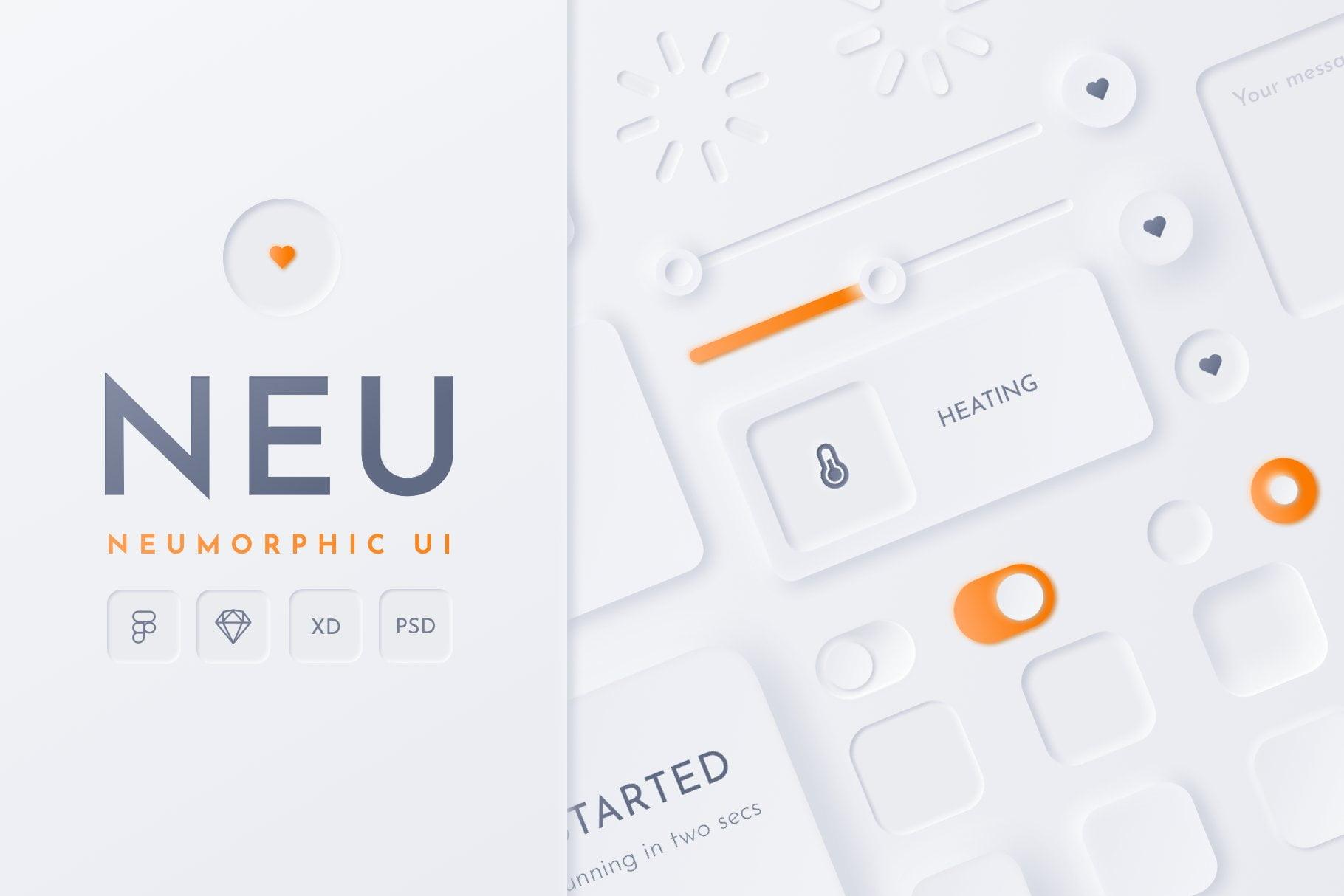 Neumorphism-UI-Design-Sample-1 - 43+ BEST FREE Neumorphism UI Design SAMPLE [year]