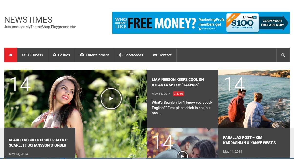 NewsTimes - 38+ Awesome WordPress News Templates [year]