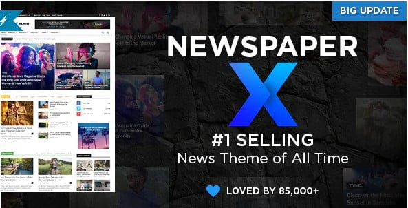 Newspaper - 38+ Awesome WordPress News Templates [year]