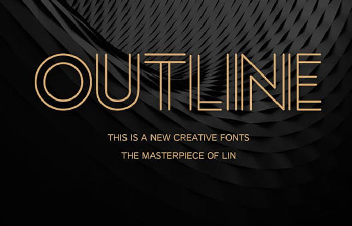 Outline-1 - 39+ Amazing Outline Fonts For Designer [year]