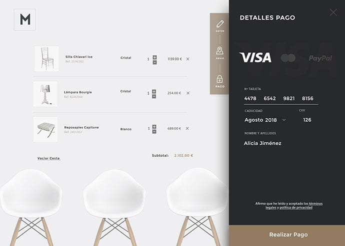 Payment - 63+ Impressive Free Furniture Web UI Example [year]