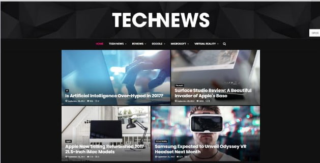 PenNews-1 - 33+ Great Science & Technology WordPress Themes [year]
