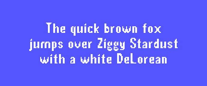 Pixel-Typeface - 33+ Lovely Free Retro Pixel & 8-Bit Style Fonts [year]