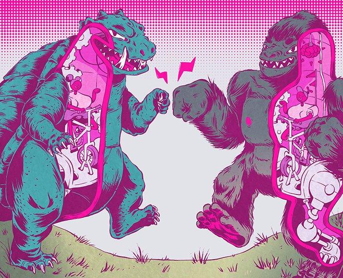 Powershop - 38+ Marvelous Comic Style Illustrations [year]