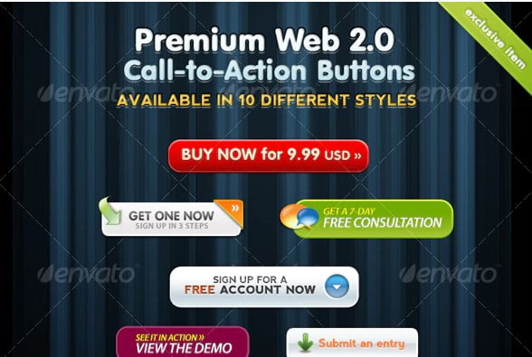 Premium-Web - 46+ Great Free Inspiration CSS Button Example [year]