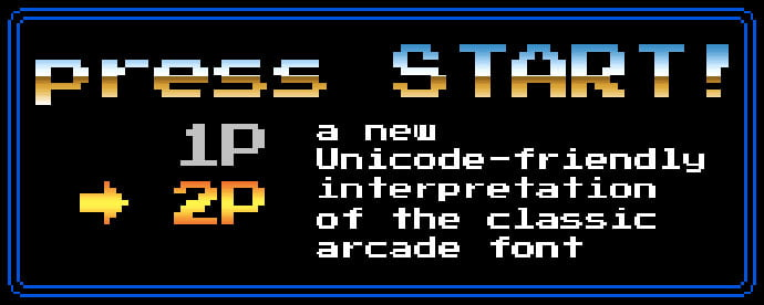 Press-Start-2P - 33+ Lovely Free Retro Pixel & 8-Bit Style Fonts [year]