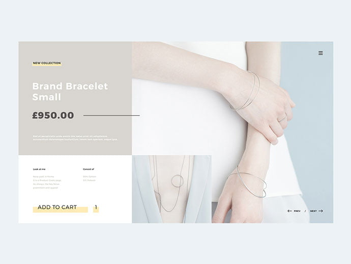 Product-Card - 53+ Awesome Shopping Cart UI Designs [year]