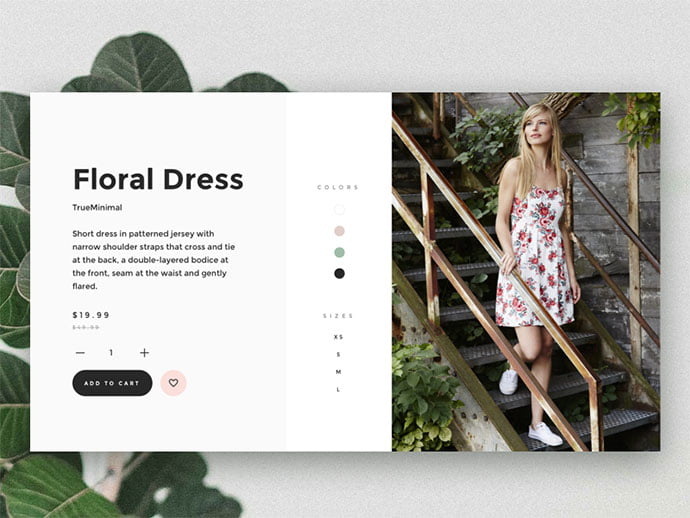 Product - 53+ Awesome Shopping Cart UI Designs [year]