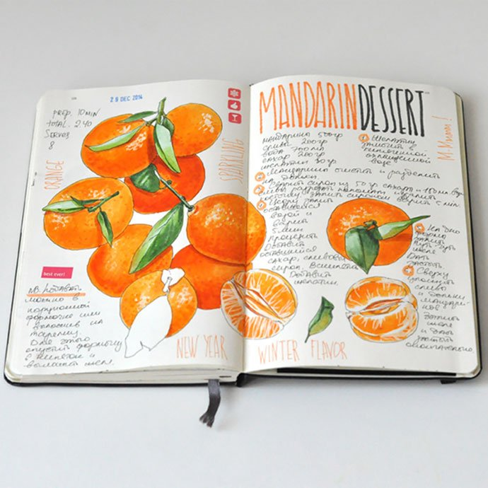 Recipe-Journal - 35+ Creative Free Cookbook Designs Example [year]