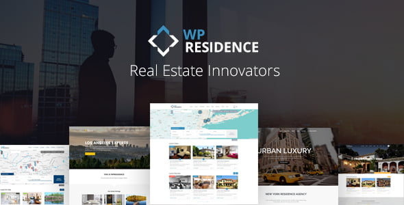 Residence - 33+ Amazing Real Estate WordPress Themes [year]