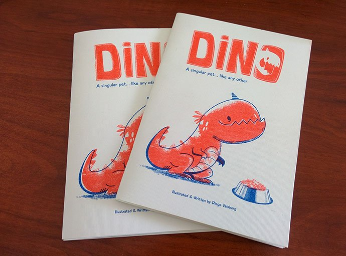Risograph-Book - 38+ Marvelous Comic Style Illustrations [year]